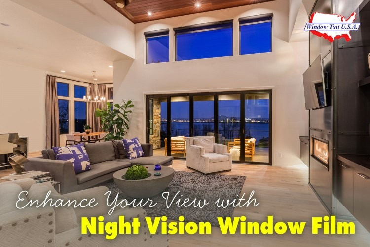 night vision window film